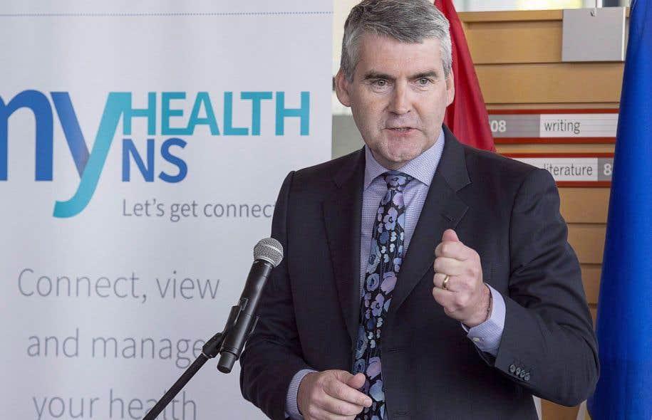 Le premier ministre de la Nouvelle-Écosse, Stephen McNeil