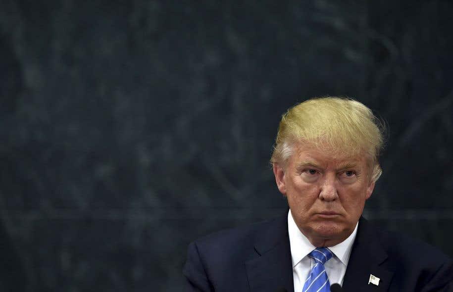 Le président-désigné américain, Donald Trump