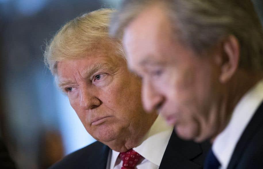 Le président américain désigné, Donald Trump