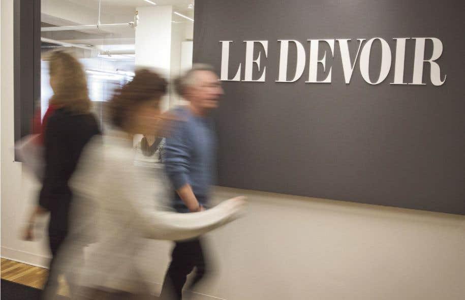 «Le Devoir est plus qu'un journal. Son contenu se décline sur toutes ses plateformes numériques avec une touche spécifique pour chacune d'elles», écrit Luce Julien.