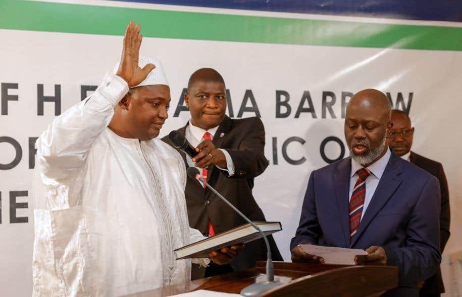 Les troupes de la CEDEAO ont pris position pour éjecter Jammeh — Gambie