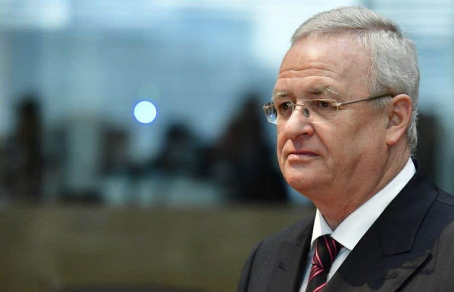 Martin Winterkorn a été aux commandes de Volkswagen de2007 à2015.