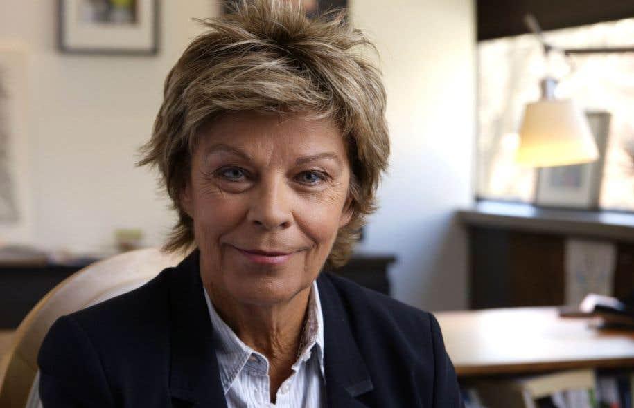 Louise Beaudoin avait été élevée au rang de commandeur de la Légion d'honneur en 2004.
