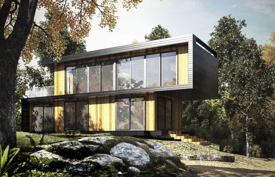 Rendre l habitation accessible en utilisant d anciens for Conteneur habitation