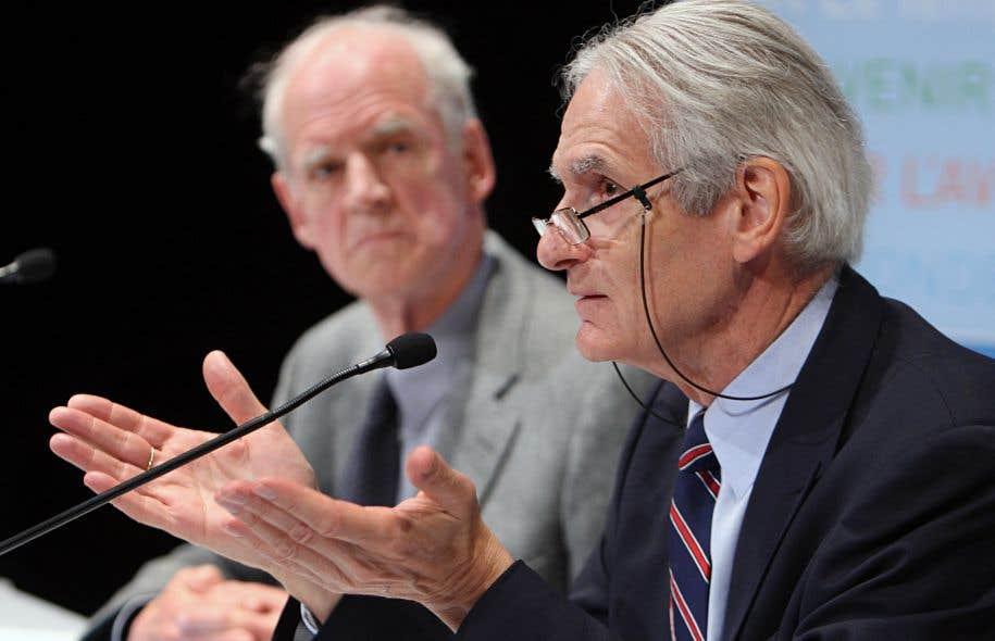 Gérard Bouchard: «La responsabilité de l'échec du consensus appartient à M. Couillard.»