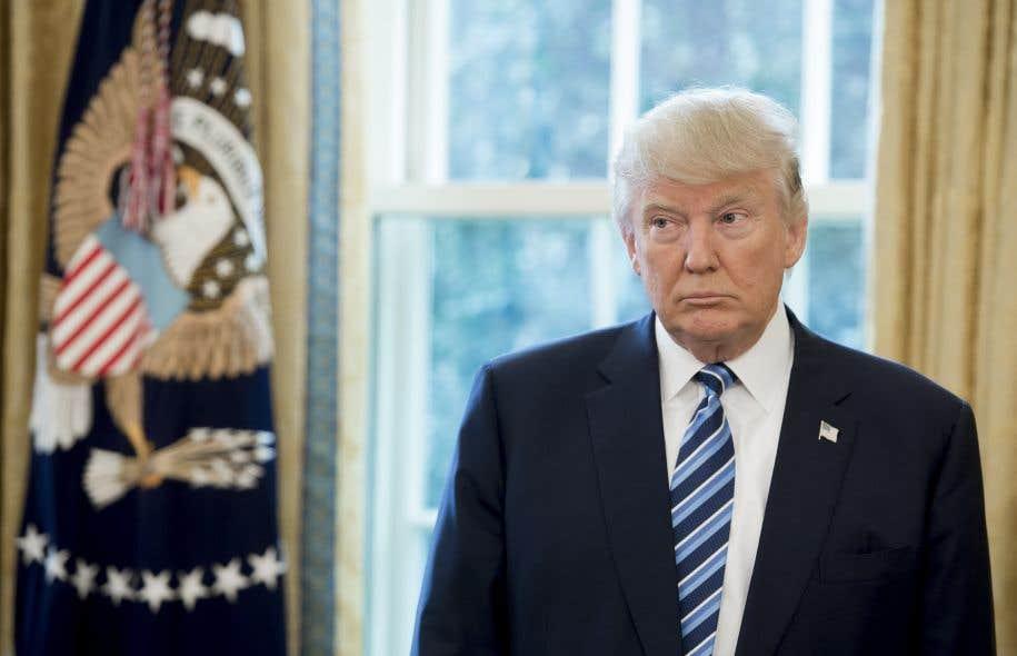 Selon un sondage publié le 10février, 46% des Américains souhaitent la destitution du président Trump.