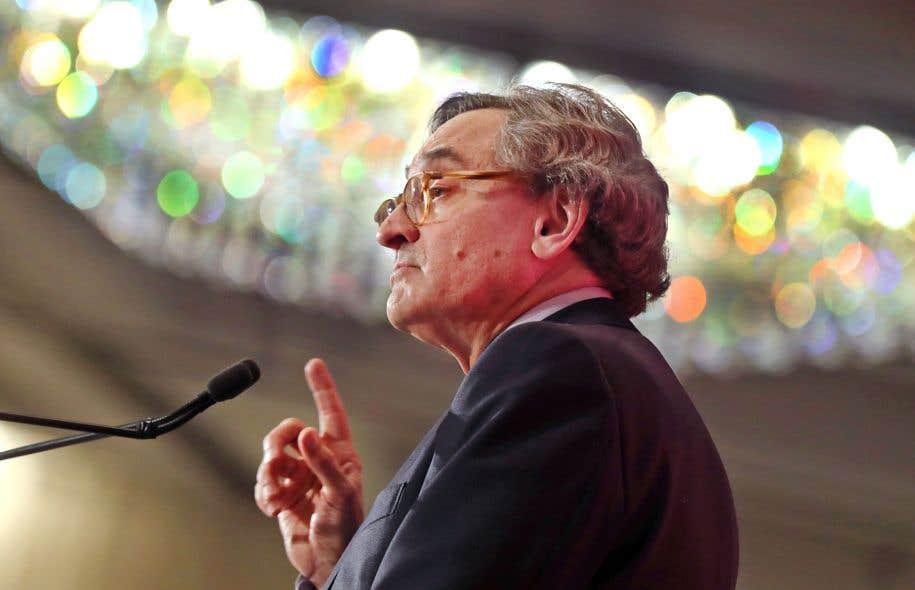 Michael Sabia, président de la Caisse de dépôt et placement du Québec