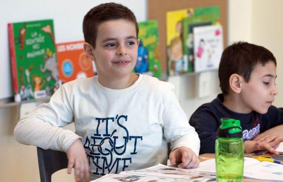 À Montréal, plus de 56% des élèves sont allophones: ils ne parlent ni français ni anglais.