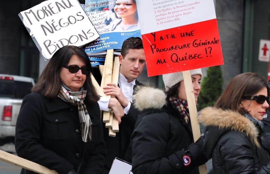 Sous réserve d'une entente d'ici deux mois, les avocats et notaires de l'État du Québec se verront imposer des conditions de travail pour les cinq prochaines années.