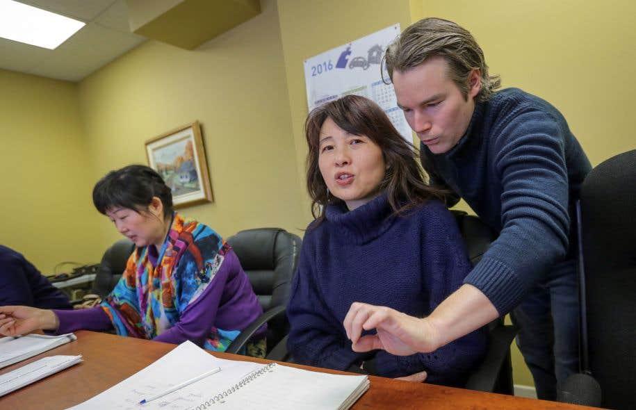 Une centaine d'immigrés chinois ont pu suivre des cours de francisation sur mesure.