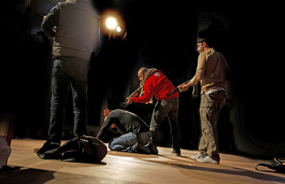 La Ville de Québec a annulé les représentations de la pièce «Djihad».