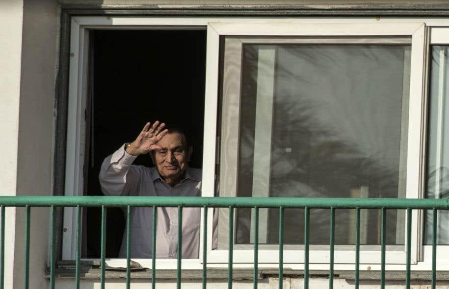 Egypte: Hosni Moubarak en liberté