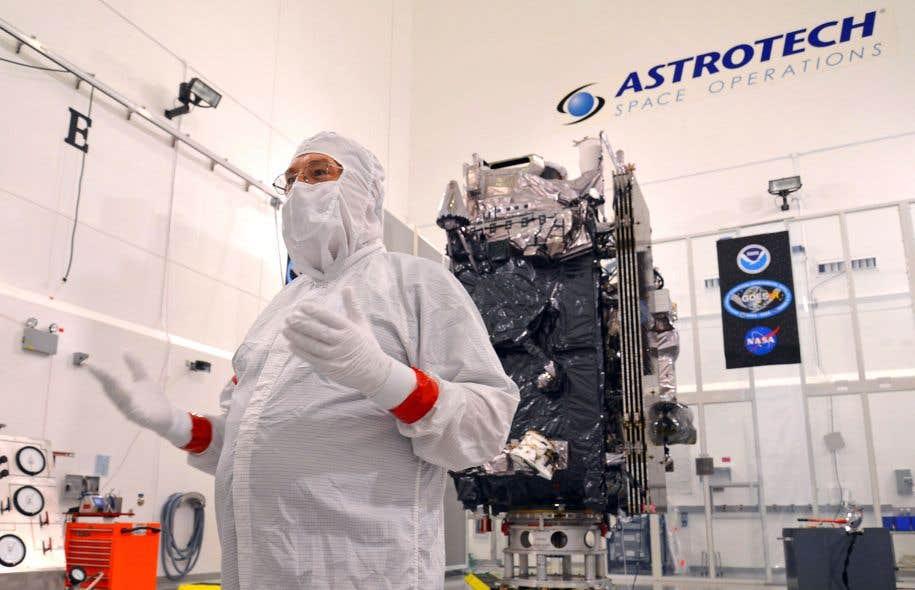 La National Oceanographic and Atmospheric Administration utilise des satellites, notamment du type GOES-R, dans ses programmes de télédétection.