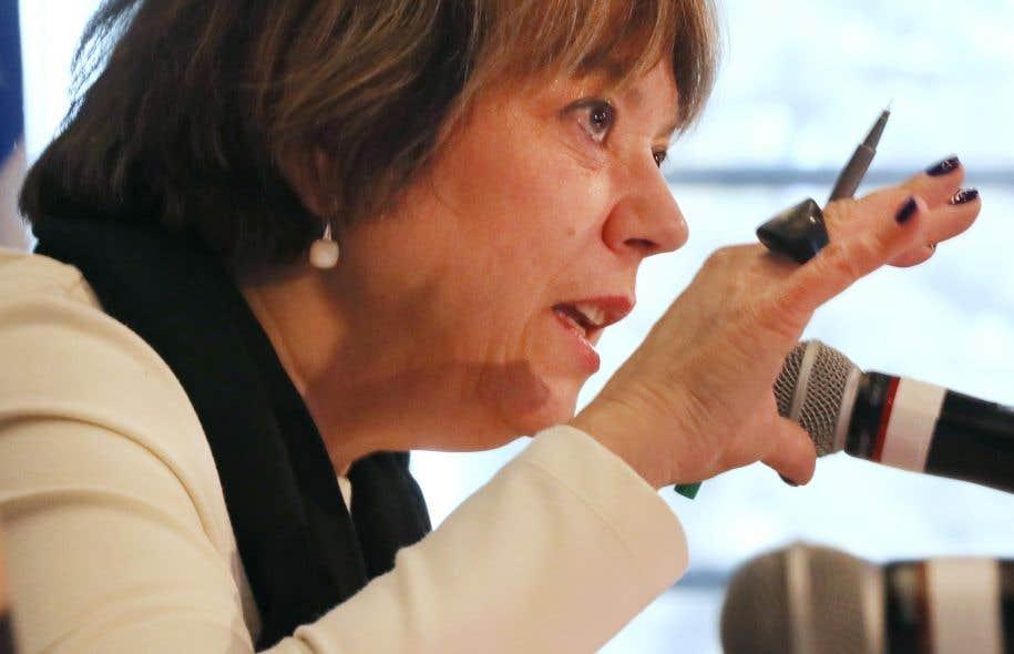 La ministre de l'Enseignement supérieur Hélène David