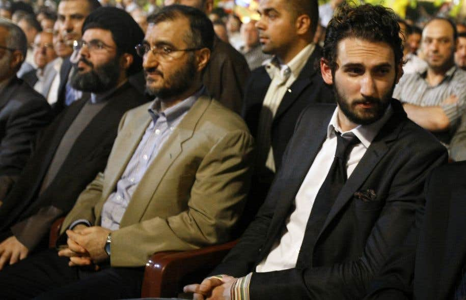 Taymour Joumblatt (à droite), fils de Walid Joumblatt