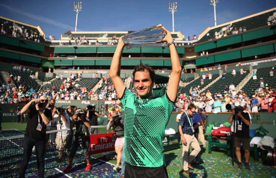 À 35ans, Federer s'amuse comme un gamin: il s'est joué de tous ses adversaires en deux sets souvent étincelants.
