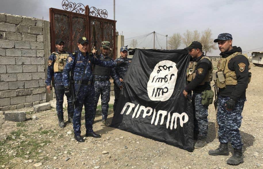 Dans quel état se trouve le groupe État islamique?