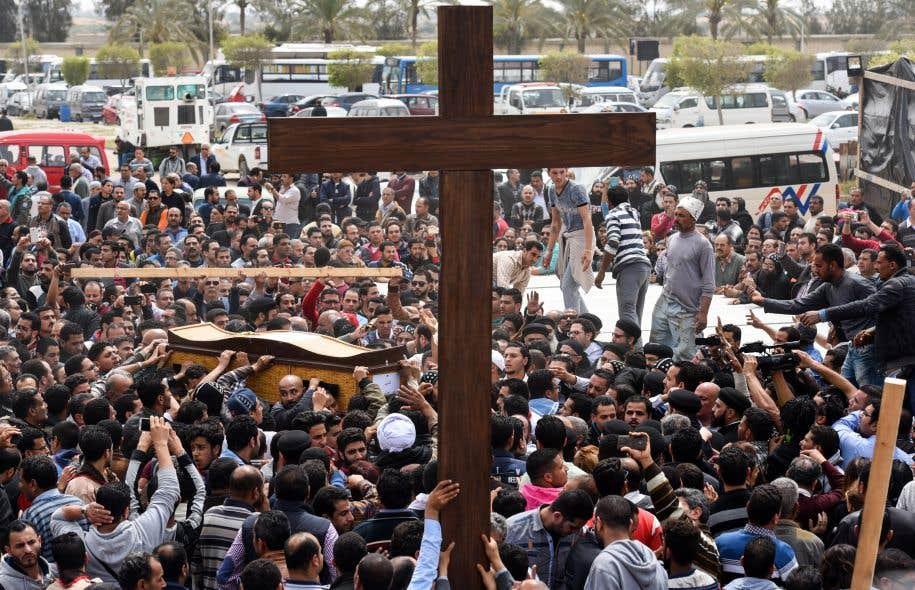 Des chrétiens tués dans un double attentat en Egypte