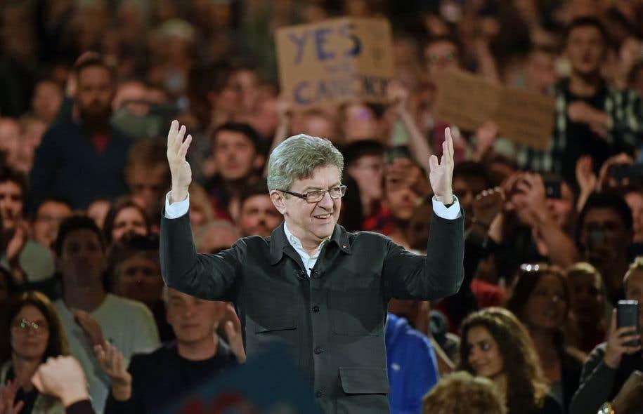 Mercredi, la campagne de Jean-Luc Mélenchon a fait un arrêt dans la ville de Lille.