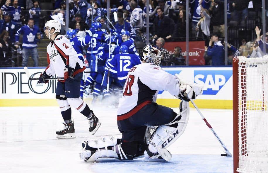 Les Leafs l'ont encore emporté en prolongation lundi soir.