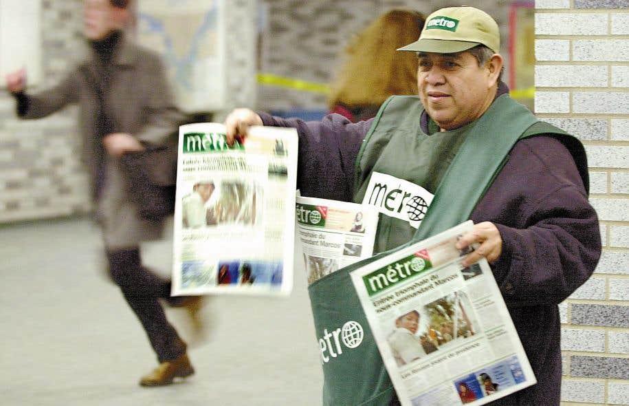 Transcontinental met en vente 93 publications, dont le quotidien