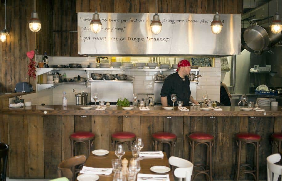 Luciano se retrouve dans la liste relativement courte des excellentes tables détendues de notre cité gourmande.