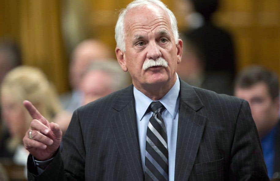 L'ex-ministre fédéral Vic Toews