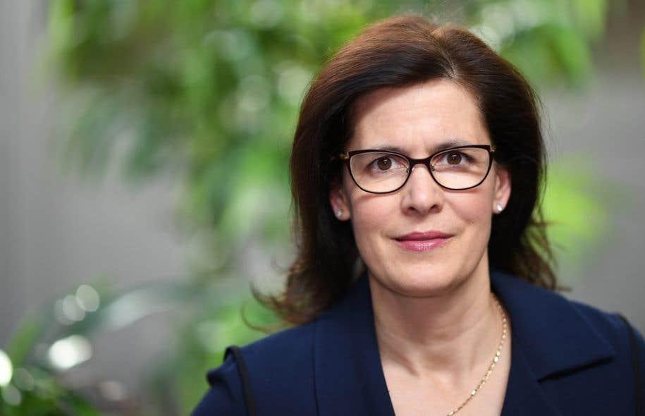 La toute nouvelle rectrice désignée de l'Université Laval,Sophie D'Amours