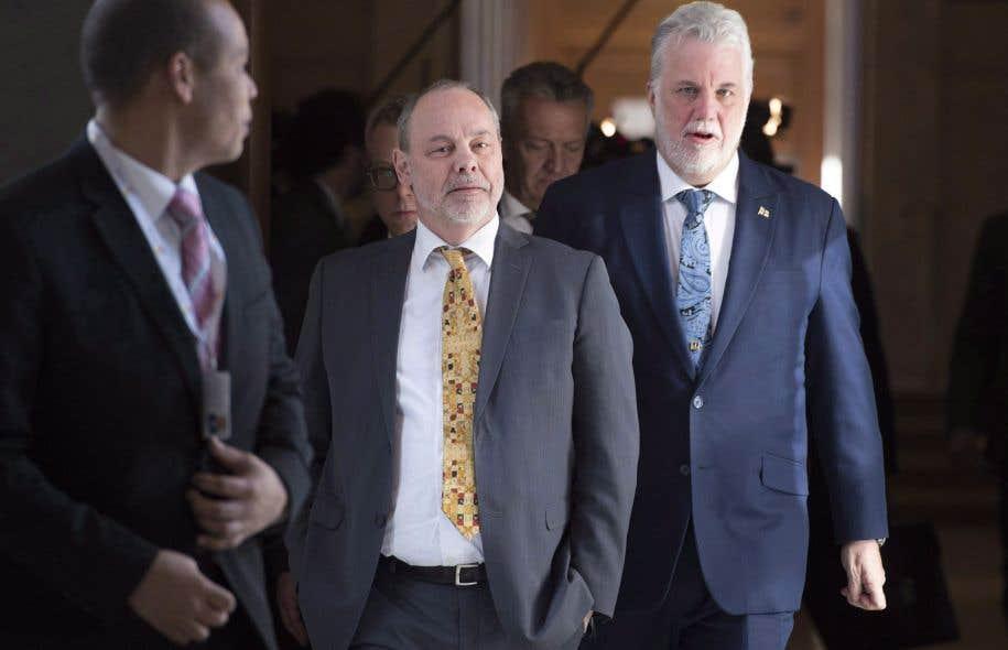 Couillard nie toute all gation d influence de marc bibeau sur son gouvernement le devoir - Chef de cabinet du premier ministre ...