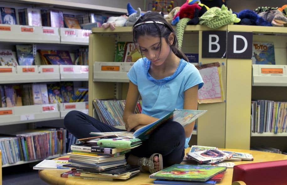 Selon le sondage, les jeunes apprécient réellement la lecture.
