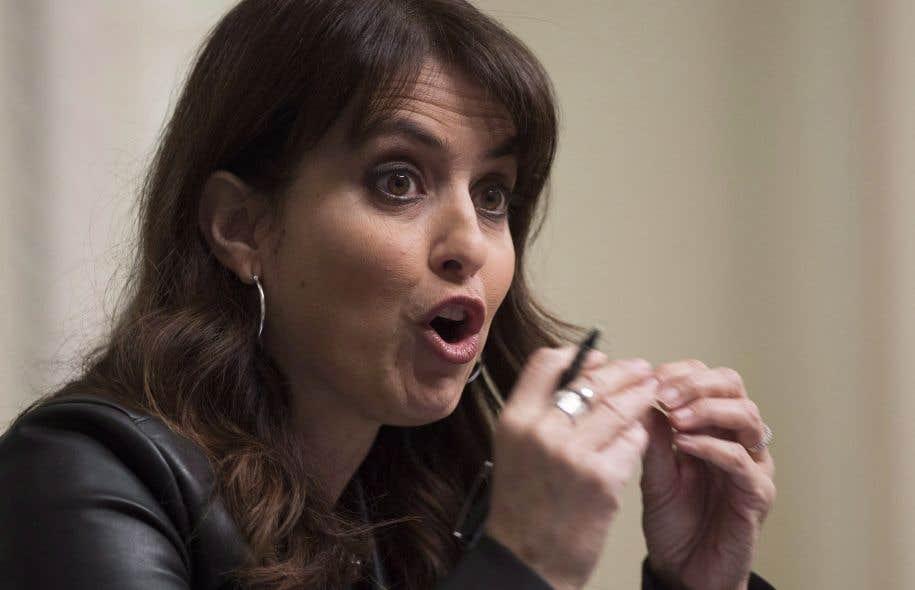 La critique de l'opposition officielle en matière de Justice, Véronique Hivon