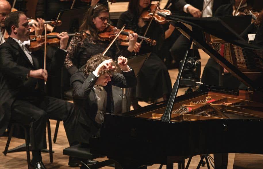 Le pianiste hongrois de 30ans et vainqueur du Concours musical international de Montréal,Zoltan Fejérvari