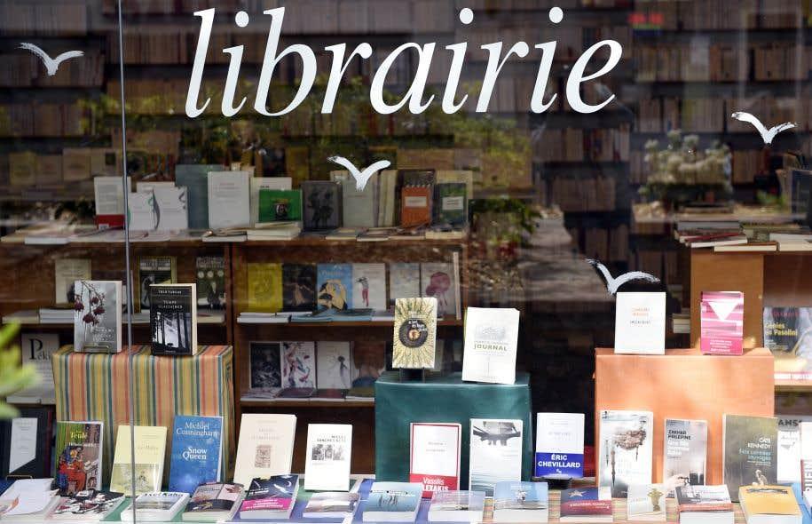 La décroissance des ventes en librairie s'observe depuis 2013.