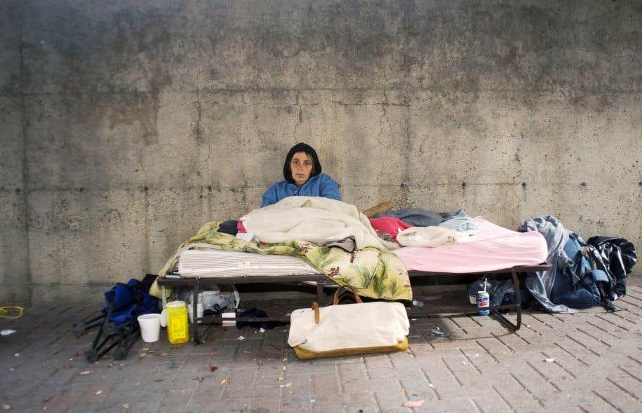 Si l'itinérance n'est pas uniquement une question de pauvreté, elle est toujours une question de pauvreté.