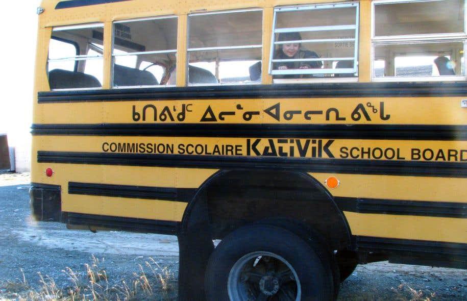 La semaine dernière, la commission scolaire Kativik a envoyé une lettre au ministre de l'Éducation.