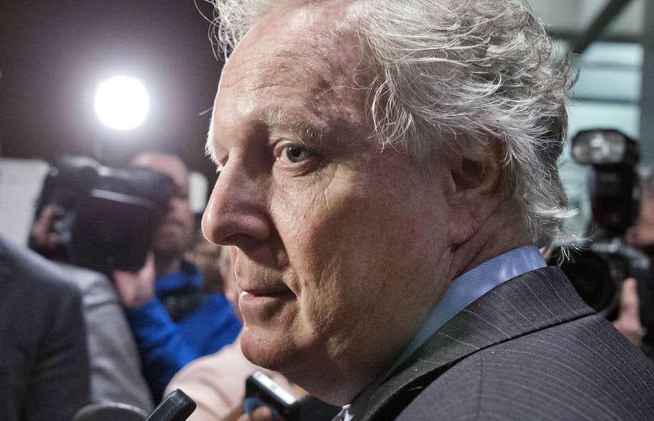 L'ancien premier ministre du Québec Jean Charest