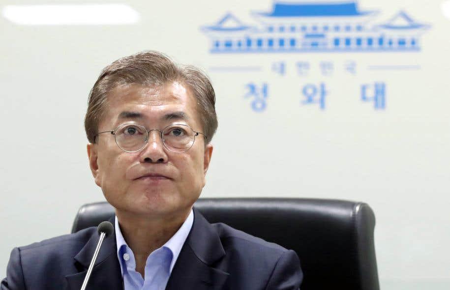 Le nouveau président sud-coréen, Moon Jae-in