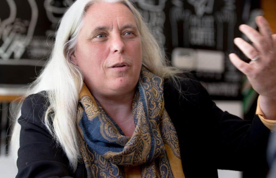 La députée solidaire Manon Massé