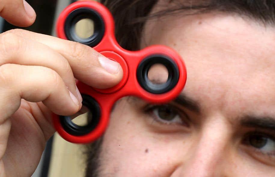 Le jouet a été créé à l'origine pour améliorer la concentration des enfants ayant un déficit d'attention.