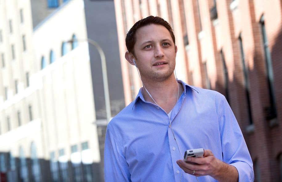 Matthew Boerum, 35ans, a quitté son travail à l'American University de Washington en 2014 pour faire un doctorat à McGill. Ingénieur du son, musicien et enseignant, c'est à Montréal que l'Américain a fondé son entreprise, Audible Reality.