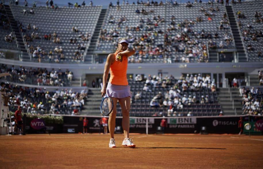 Sharapova forfait pour Wimbledon, retour prévu le 31 juillet