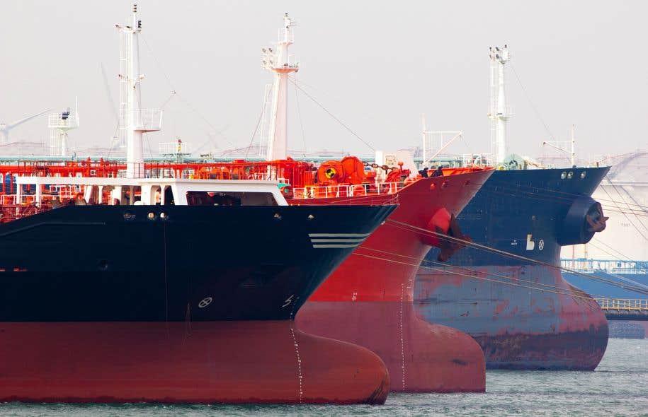 Énergie Est devrait entraîner une augmentation du trafic pétrolier dans les eaux de l'Est canadien, notamment dans la baie de Fundy.