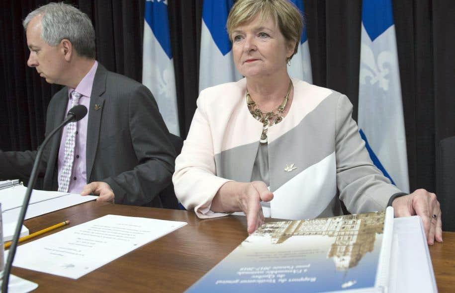 La vérificatrice générale du Québec, Guylaine Leclerc, a passé au crible une cinquantaine de contrats de construction totalisant près de 310 millions de dollars.