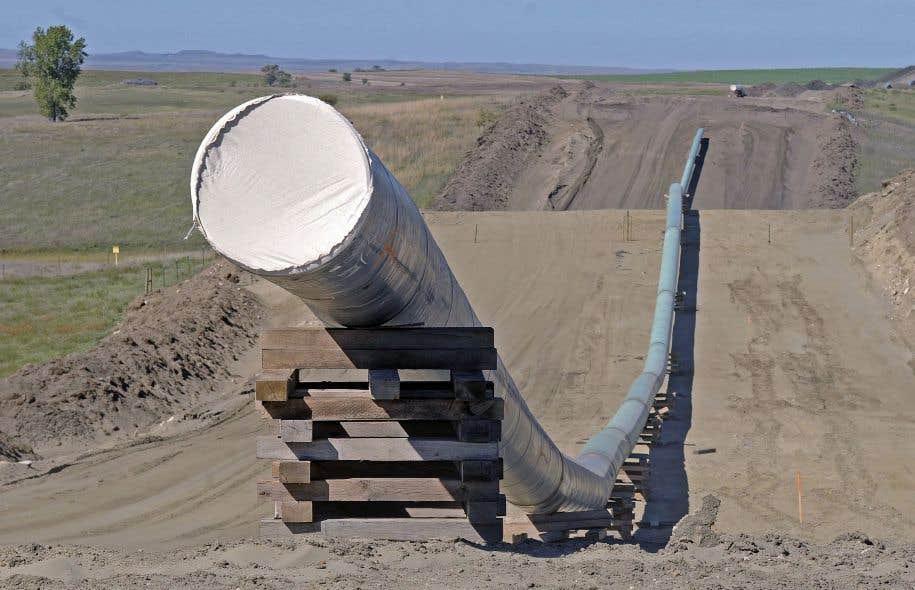 Le pipeline Dakota Access Pipeline traverse quatre États américains sur 1886 kilomètres.