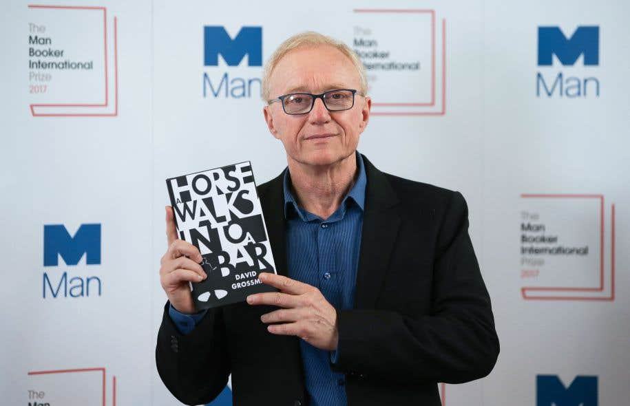 David Grossman a décroché mercredi à Londres le Man Booker International Prize pour «Un cheval entre dans un bar».