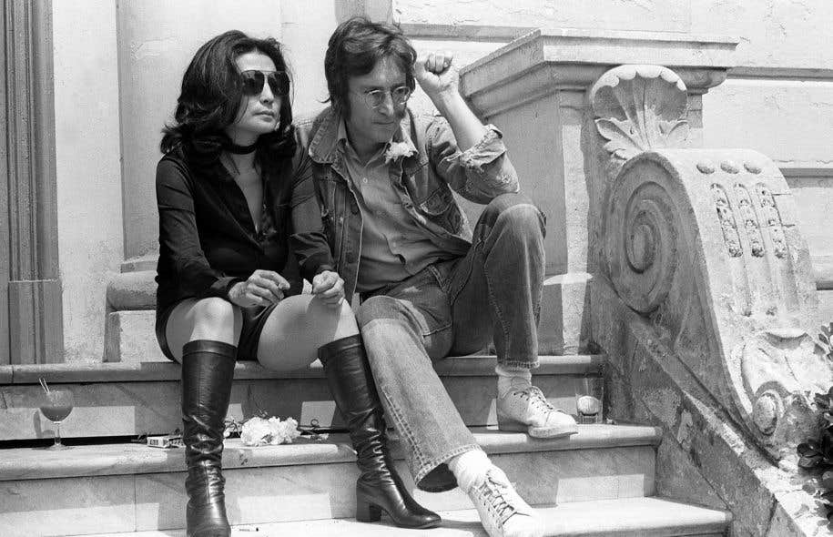 Le couple Ono-Lennon en 1971