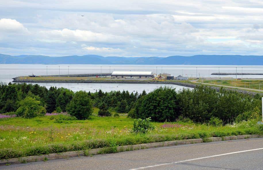 Parmi les ports ciblés par le gouvernement Couillard, il y a celui de Gros-Cacouna.