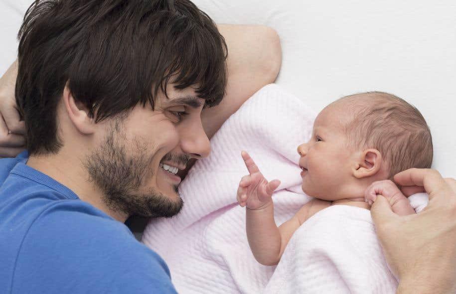Selon les résultats d'un sondage réalisé auprès de 1000 pères québécois, pas moins de 96 % des répondants trouvent très important de s'impliquer auprès de leurs enfants.