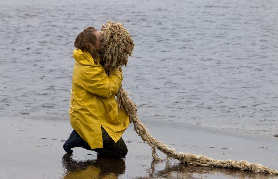 Avec son projet «Subsistances», l'artiste Raphaëlle de Groot a voulu aller «au-delà de l'image de la nature canadienne, de l'écran, de la connaissance par les livres, les films».