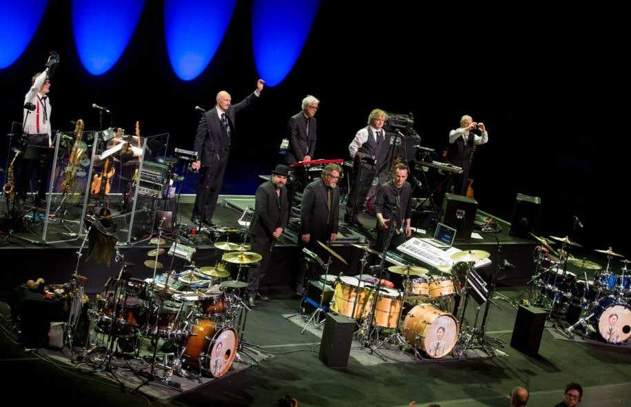 King Crimson était à Montréal lundi soir dans le cadre du Festival international de jazz.